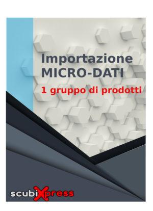 Importazione micro-dati